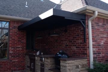 "Bronze Horizontal 8"" Architectural Canopy"