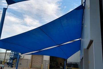 Shade Sail Keder Rail Canopy